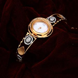 Ladies rose gold watch-rlw85