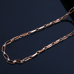 Rose gold 18k daily wear mend chain-rmc22