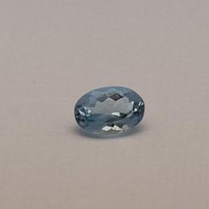 2.050ct oval sky-blue aquamarine