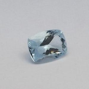 9.495ct cushion sky-blue aquamarine