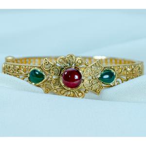 22kt gold antique bracelet lb-541