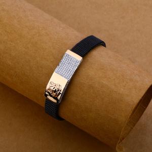 18kt rose gold dynamic bracelet mlb131