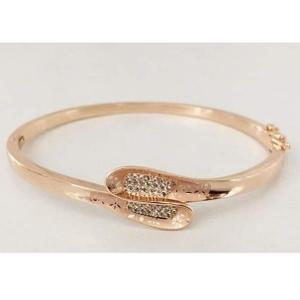 18 carat rose gold women kada