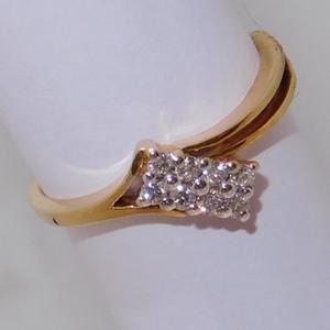 18k gold diamond ring agj-lr-143