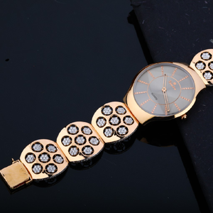 Mens rose gold 18k designer valentine dial wa