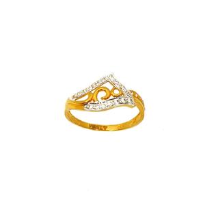 22k gold fancy ring mga - lrg0056