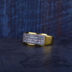 Mens 22k gold ring-mr309