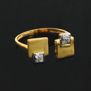 22kt gold cz ladies ring lr-3992