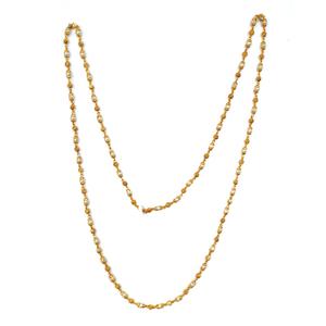 1 gram gold forming moti mala chain mga - mle