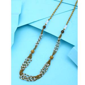 916 hallmark gold stylish mala