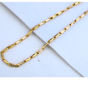916 gold hallmark fancy mens choco chain mch1