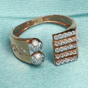 916 gold stylish ring for women pj-r021