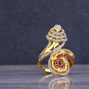 916 gold hallmark ring llr86