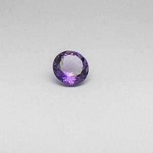8.725ct round purple amethyst