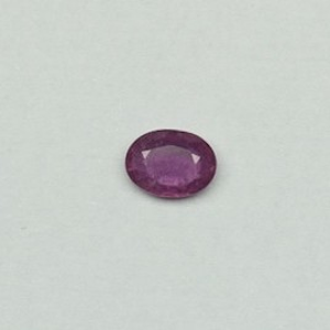 1.180ct oval red ruby-manek