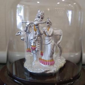 999 silver classis design hallmark radha kish