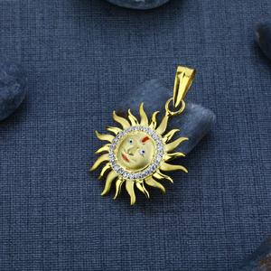 Men's exclusive 916 god gold pendant- gp14
