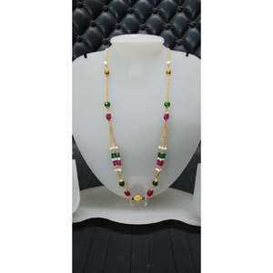 22kt gold fancy colorful mala