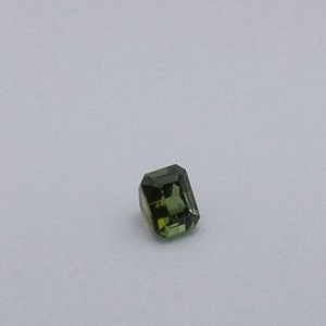 3.355ct square green tourmaline