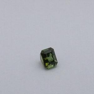 3.355ct square green tourmaline
