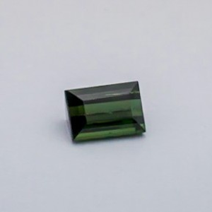 4.860ct square green tourmaline