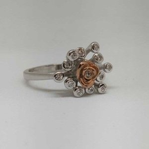 925 sterling silver rose flower designer ladi