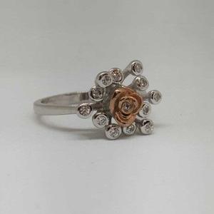 925 sterling silver rose flower designer ladi
