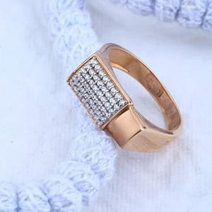 18kt rose gold premium gents ring rh-gr52