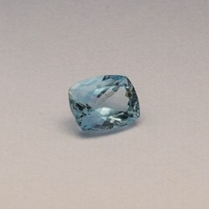 5.195ct radiant sky-blue aquamarine