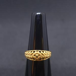 Ladies ring plain lrg-0456