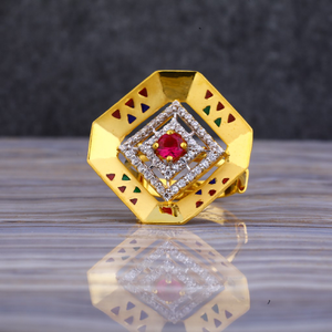 22kt gold exclusive ring for women llr123