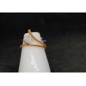 18k rose gold ring
