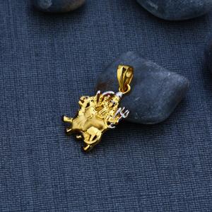 Ambe maa gold 22k pendant-gp62