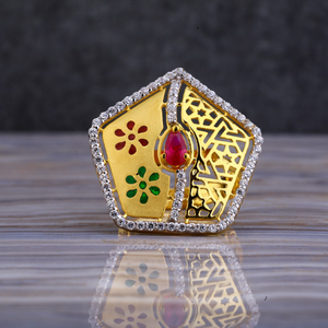 916 gold exclusive cz ring llr139