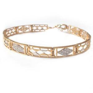 22k gold bracelet mga - gb005