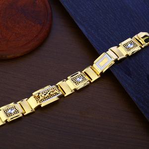 Jaguar gold bracelet-mpb99