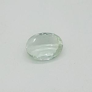 4.90ct oval green aquamarine