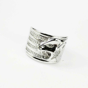 New 925 silver jaguar gents ring