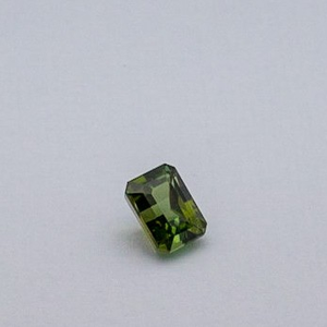 3.830ct square green tourmaline