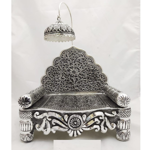 925 pure silver  antique singhasan  po-141-25