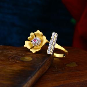 Lotus pearl ladies casting ring