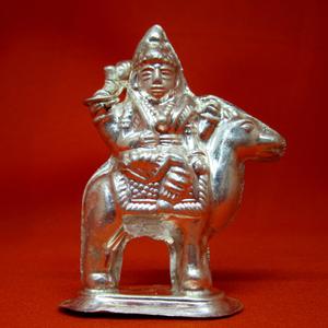 Silver shree dasha maa statue(murti) mrt-40