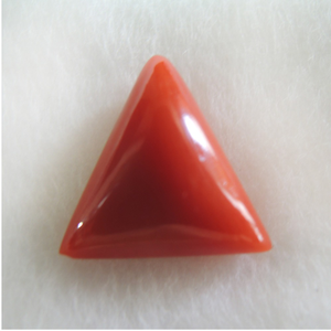 4.64ct triangle natural red-coral (