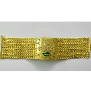 22k / 916 gold gents religious bracelet ( luc