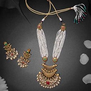 Antique necklace set 916