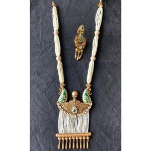 Royal 916 gold antique necklace set from rajk