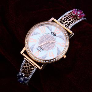 18kt rose gold fancy  hallmark  watch rlw126