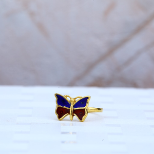 Kids gold ring-kr32