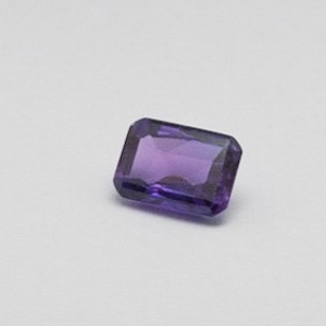5.700ct radiant purple amethyst