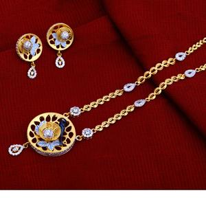 22kt gold hallmark  excusive  chain necklace